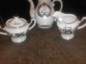 From sugar bowls to creamers, carafes to grinders, our coffee and tea accessories pair your favorite hot beverage with the hottest values around. 25TH ANNIVERSARY NAPCOWARE COFFEE POT AND NORCREST SUGAR / CREAMER SET | eBay