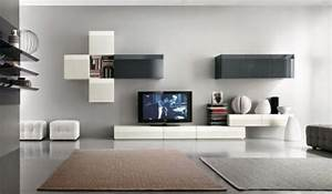 20 cool modern tv wall units for unique living room designs With modern wall unit designs for living room