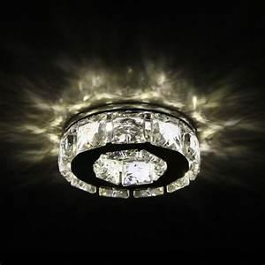 Petit Spot Encastrable Led : spot cristal encastrable design rond led elena ~ Edinachiropracticcenter.com Idées de Décoration