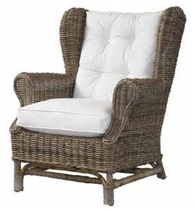 Kubu Dining Chair Cushion rattan chairs wicker wing back chair kubu style