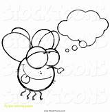 Fly Cartoon Daydreaming Guy Coloring Pages Toon Clipart Hit Getcolorings Printable Remarkable sketch template