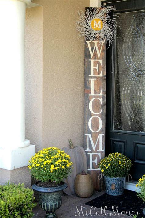 easy front porch diy sign ideas   home  art