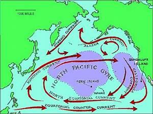 Ocean currents + streams