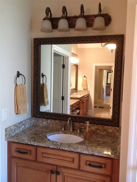 blackwater frame style traditional bathroom mirrors