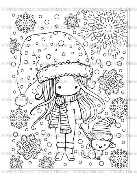 Whimsical World Coloring Books and Pages - The Fairy Art