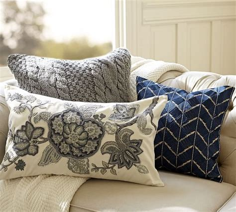 pottery barn throw pillows phulkari embroidered chevron pillow cover pottery barn
