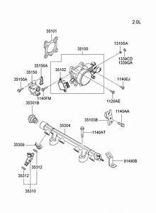 Hyundai Tiburon Bracket - Accelerator Wire