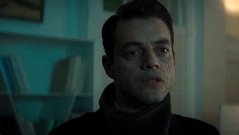 NO TIME TO DIE Clip Introduces Rami Malek as Villain Safin ...