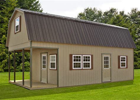 Two Storey Sheds by Two Story Barns Pine Creek Structures