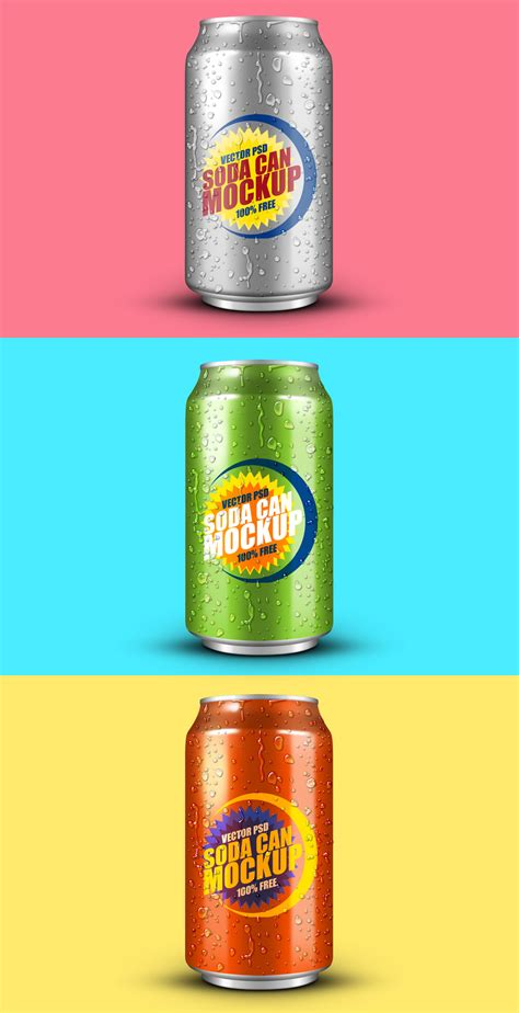 Bebida Ephotoshop Template Can Soda by Photoshop Mockup De Lata De Bebida Fria Antocas