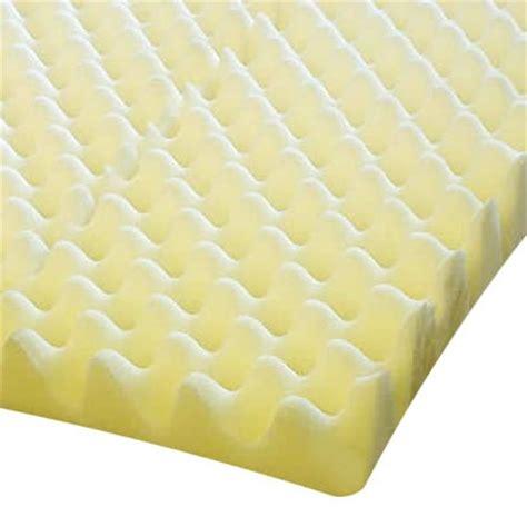 essential medical egg crate mattress pad foam