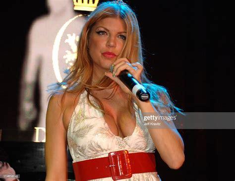 Fergie During Hotel De Maxim Party For Super Bowl Xli