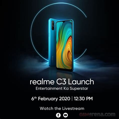 realme   launch  february  poster