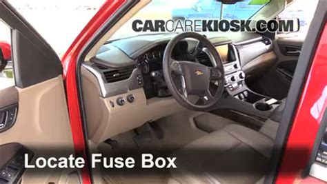 Chevy Expres Fuse Box Replacement by De Fusible Interior En Chevrolet Tahoe 2014 2016