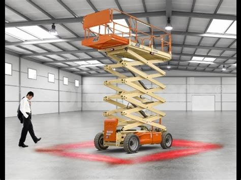 red zone safety light red zone forklift pedestrian light red light from