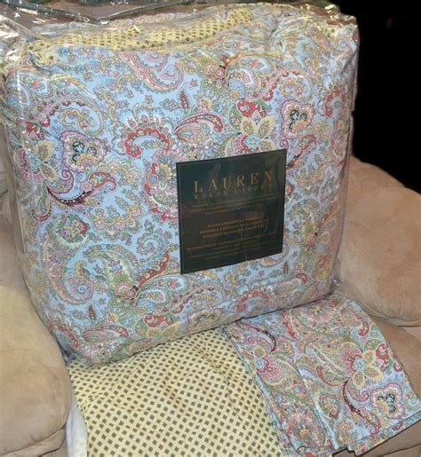 ralph paisley bedding ralph aix en provence paisley foulard king or