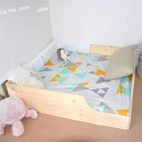 sol chambre bébé lit au sol pour bébé 2 nouvelle version la vie