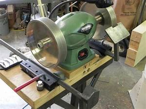 How to Sharpen Woodturning Tools Using a Jig