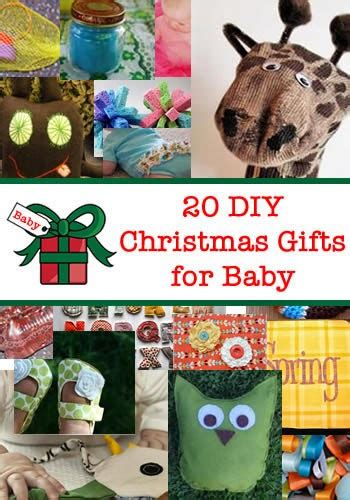 20 diy christmas gifts for baby handy diy