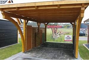 Carport Aus Holz : flachdachcarport aus holz online konfigurieren und bestellen ~ Whattoseeinmadrid.com Haus und Dekorationen