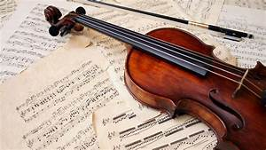 The Names Of The Strings On The Violin
