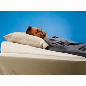 pillow wedge buy sleep pillow wedge bed wedge sleep With bed pillow wedge sleep apnea