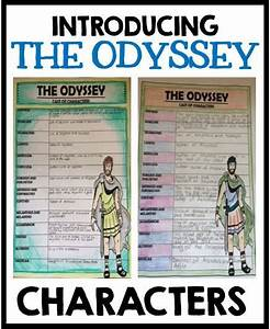 Introducing the characters of The Odyssey to your upper ...