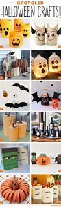 Bricolage Halloween Adulte : upcycled halloween crafts halloween halloween bricolages halloween et d coration halloween ~ Melissatoandfro.com Idées de Décoration