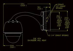Security Camera In Autocad