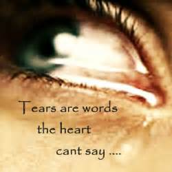 crying tears quotes