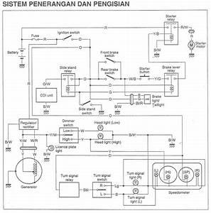 Apah Bae Okeh  Wire Diagram Sistem Penerangan Dan