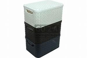 Rattan Box Mit Deckel : curver style box in rattanoptik mit deckel s 03617 ~ Bigdaddyawards.com Haus und Dekorationen