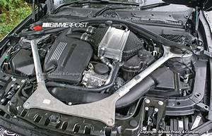 Bmw 2014 F80 M3 S55 Engine  Turbo Inline 6  Physically Exposed