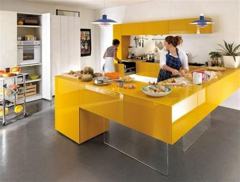 and yellow kitchen ideas yellow kitchen colors 22 bright modern kitchen design and
