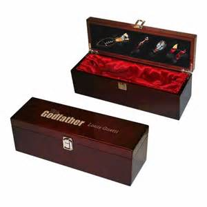 personalized silver gifts the godfather wine gift box on sale 59 60 guido gear