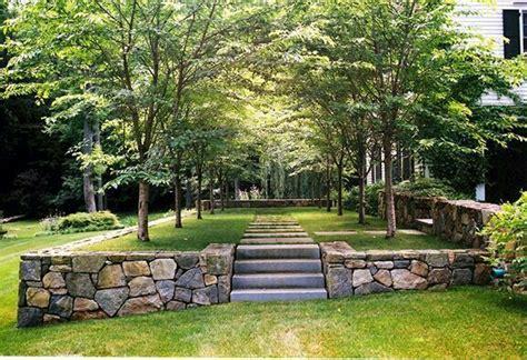 garden design create level ground  east  corn mill