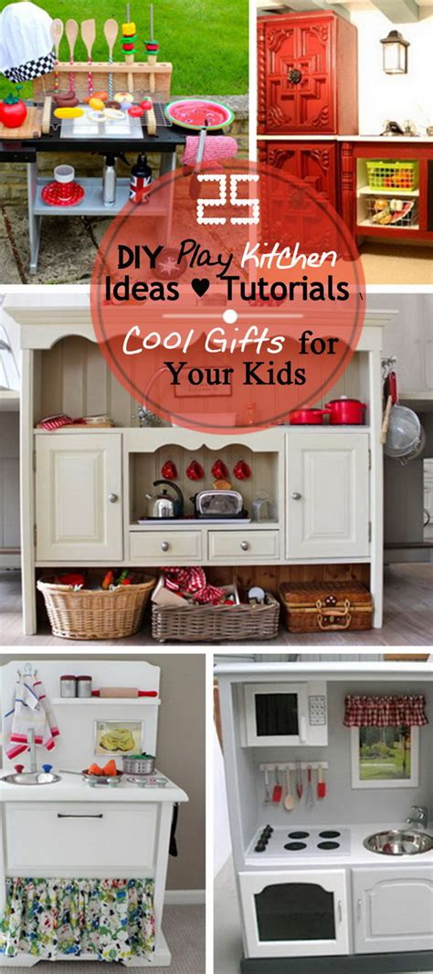 gifts from the kitchen ideas 25 diy play kitchen ideas tutorials cool gifts for