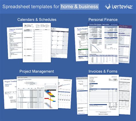 excel templates  spreadsheets