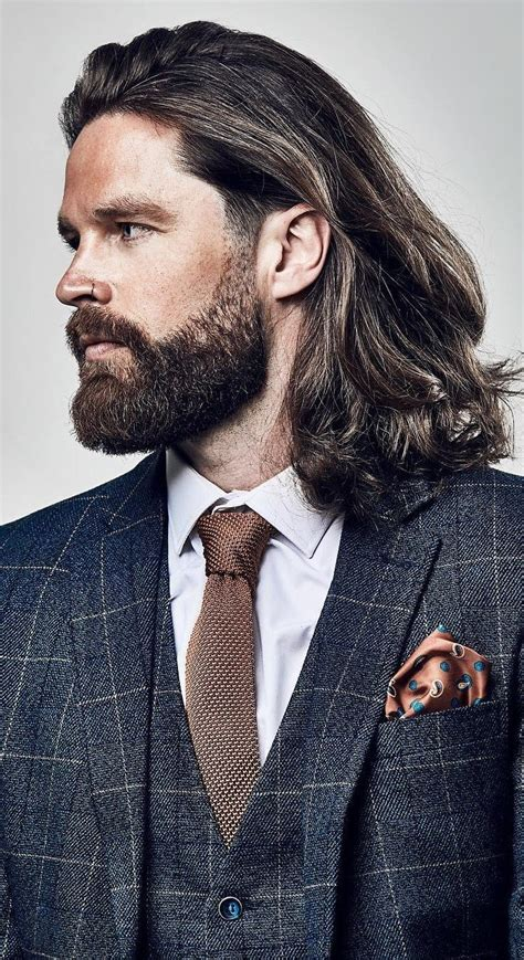 27 best long hairstyles for men it gives men a rugged