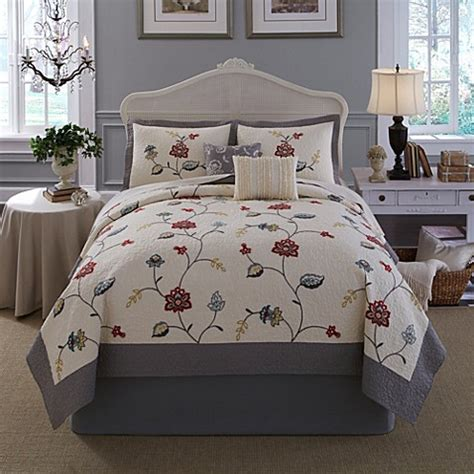 nostalgia home quilts buy nostalgia home quilt in grey from