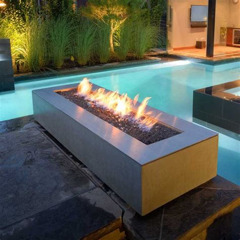 Ft 49 1 2 Gas Fire Trough W 6 Wide Deck Clearance General