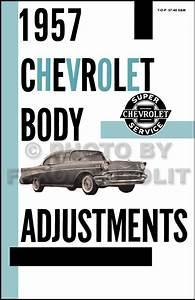 1957 Chevrolet Cd Repair Shop Manual Bel Air Nomad 150 210