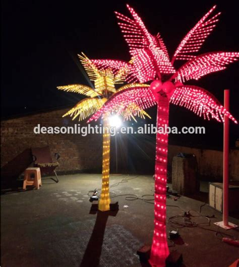 decorative palm trees with lights decorative light palm trees
