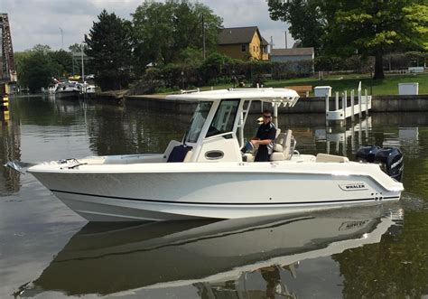 Whaler Fishing Boats by 2016 New Boston Whaler 250 Outrage Center Console Fishing