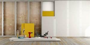 Faire Une Cloison De Separation : monter une cloison placostil ou placopan ~ Melissatoandfro.com Idées de Décoration