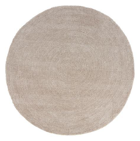 runder teppich 150 cm runder teppich in beige mit 150 cm durchmesser
