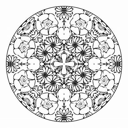 Mandala Designs Coloring Pages Pretty Amazing Pattern