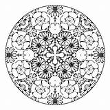 Mandala Coloring Pages Designs Pretty Amazing Fun Crazy Adult Pattern sketch template