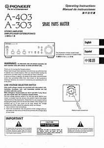 Pioneer A403