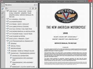 Victory Vegas  Kingpin  8-ball - Service Manual
